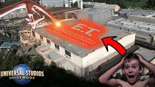 E.T. ADVENTURE LIVES AT UNIVERSAL STUDIOS HOLLYWOOD! | Universal Studios Hollywood Vlog