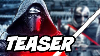 Star Wars The Force Awakens Kylo Ren Dark Side Teaser Breakdown