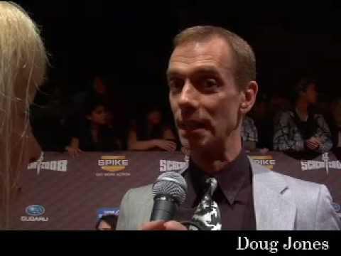 Scream 2008 Awards  Doug Jones and Anna Walton of Hellboy II