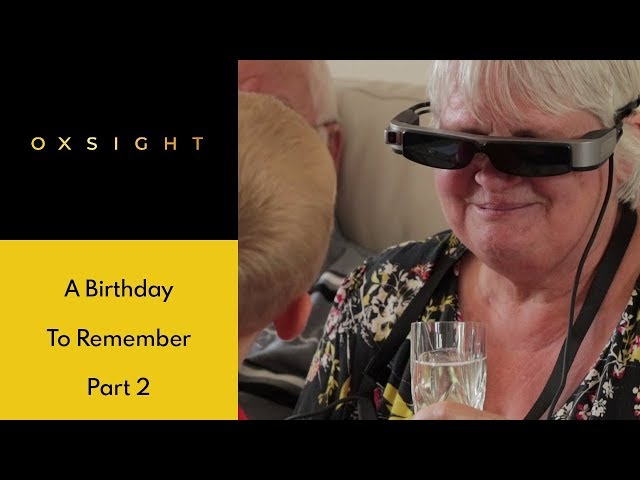 Daughter surprises mother with OXSIGHT on her birthday, Part 2