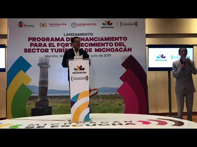 🔴 Programa de Financiamiento para el Fortalecimiento del Sector Turístico de Michoacán