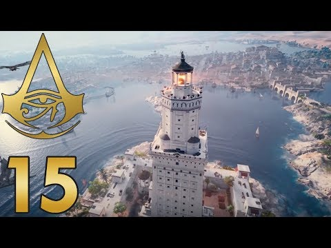 Der höchste Turm in Alexandria... | Assassins Creed: Origins
