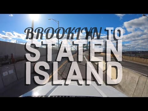 Brooklyn To Staten Island 4K