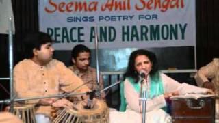 "Seema Sehgal sings ""Hum Jung Na Hone Denge"" by Atal Behari Vajpayee"