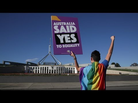 Same-sex marriage: Australia's rainbow road