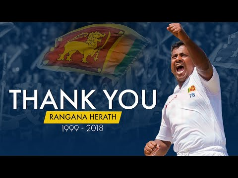 The Celebration of a LEGEND - Rangana Herath!