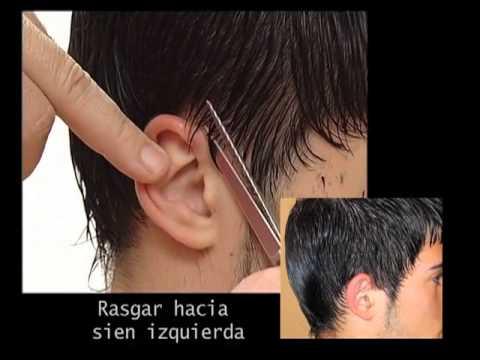 Cortes de cabello para hombres a tijera