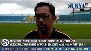 Arema FC Latihan Tanpa 4 Pilar Jelang Lawan Perseru Serui Dan Barito Putera