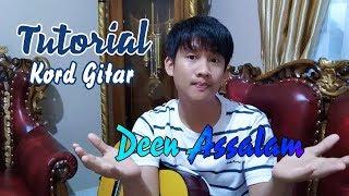 Kord gitar Deen Assalam lagu arab By M Wira