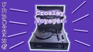 UNBOXING Crosley Voyager Bluet…