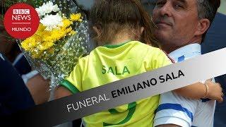 Funeral Emiliano Sala: la emotiva despedida al futbolista argentino