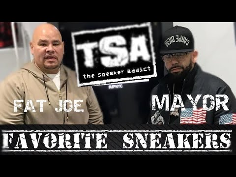 Fat Joe And Mayor Share Their Favorite Sneakers In Their Collection
