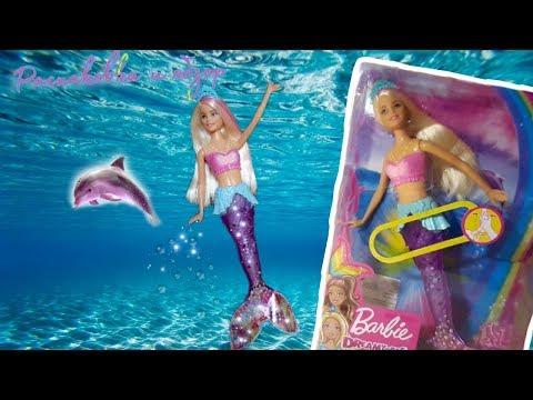 •♡ОБЗОР и РАСПАКОВКА♡• Барби мерцающая русалочка!