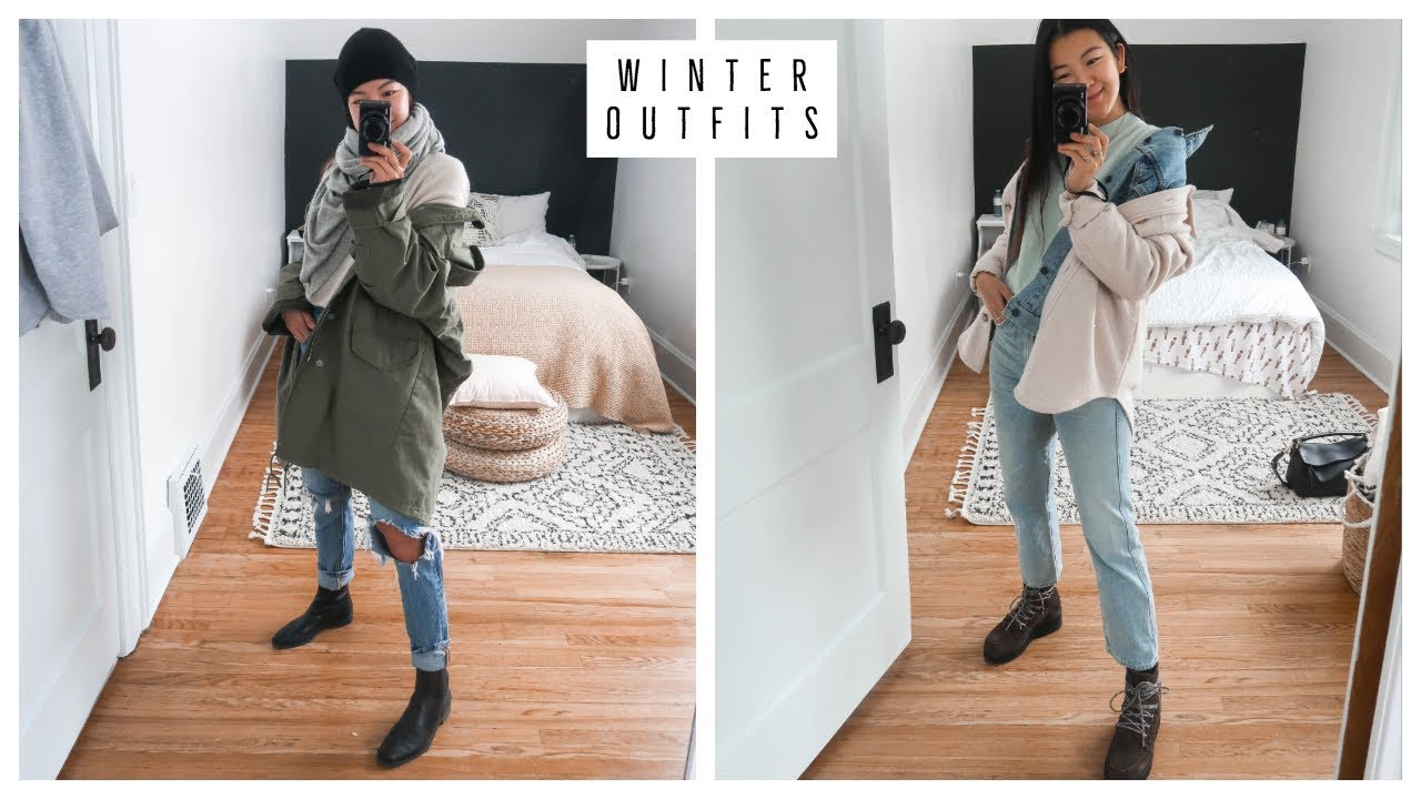 EASY WINTER OUTFIT IDEAS | WARM & COZY | WHAT I WORE 1