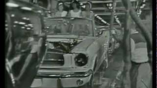 1965 Ford Mustang Production Fließband