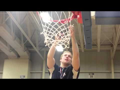 Laurens Academy cutting down the nets