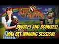 BUBBLES AND BONUSES!  OH My! WIZARD OF OZ RUBY SLIPPERS