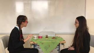 A funny fortune teller story Aysu and Irmak from 7A