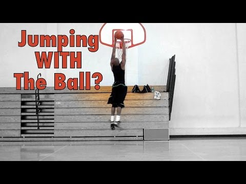 How To Jump Higher WITH The Ball | Dre Baldwin
