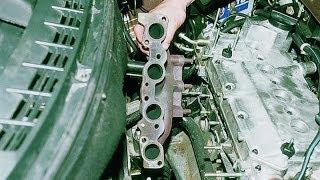 Замена выпускного коллектора ВАЗ 2111
