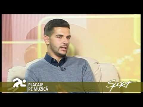 Emisiune sportivă  Antena 1 Tîrgu-Mureș- Dragoș Stepa, rugby