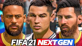 FIFA 21 NEXT GEN!! - PRIMO GAMEPLAY + VOLTI (CR7, MESSI, MBAPPE e NEYMAR)