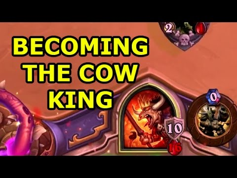 Hearthstone: The Dark Wanderer - Becoming The Cow King | WoWcrendor