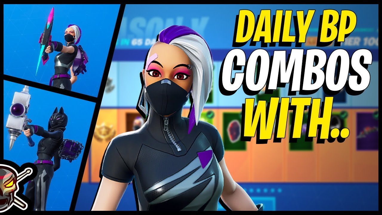 Daily Battle Pass Combos with CATALYST in Fortnite! #1