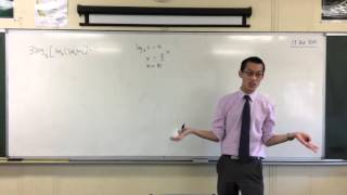 An Intimidating Logarithms Question (which is actually easy)