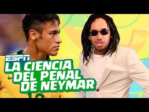 ESPN- TIRA PENALES COMO NEYMAR- RÍO EN RÍO
