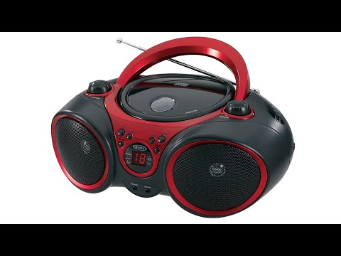 Jensen CD-490 Portable CD Player With AM/FM Radio