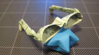 Dollar Origami Eyeglasses