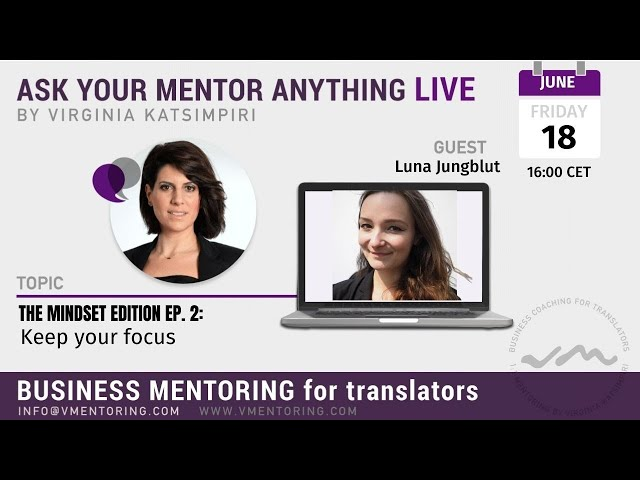 Ask Your Mentor Anything