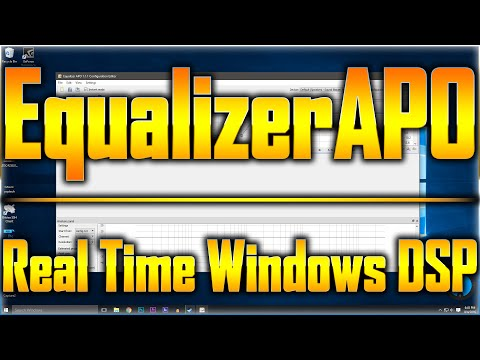 Equalizer APO Overview/Tutorial Feat. Boosting a USB Microphone