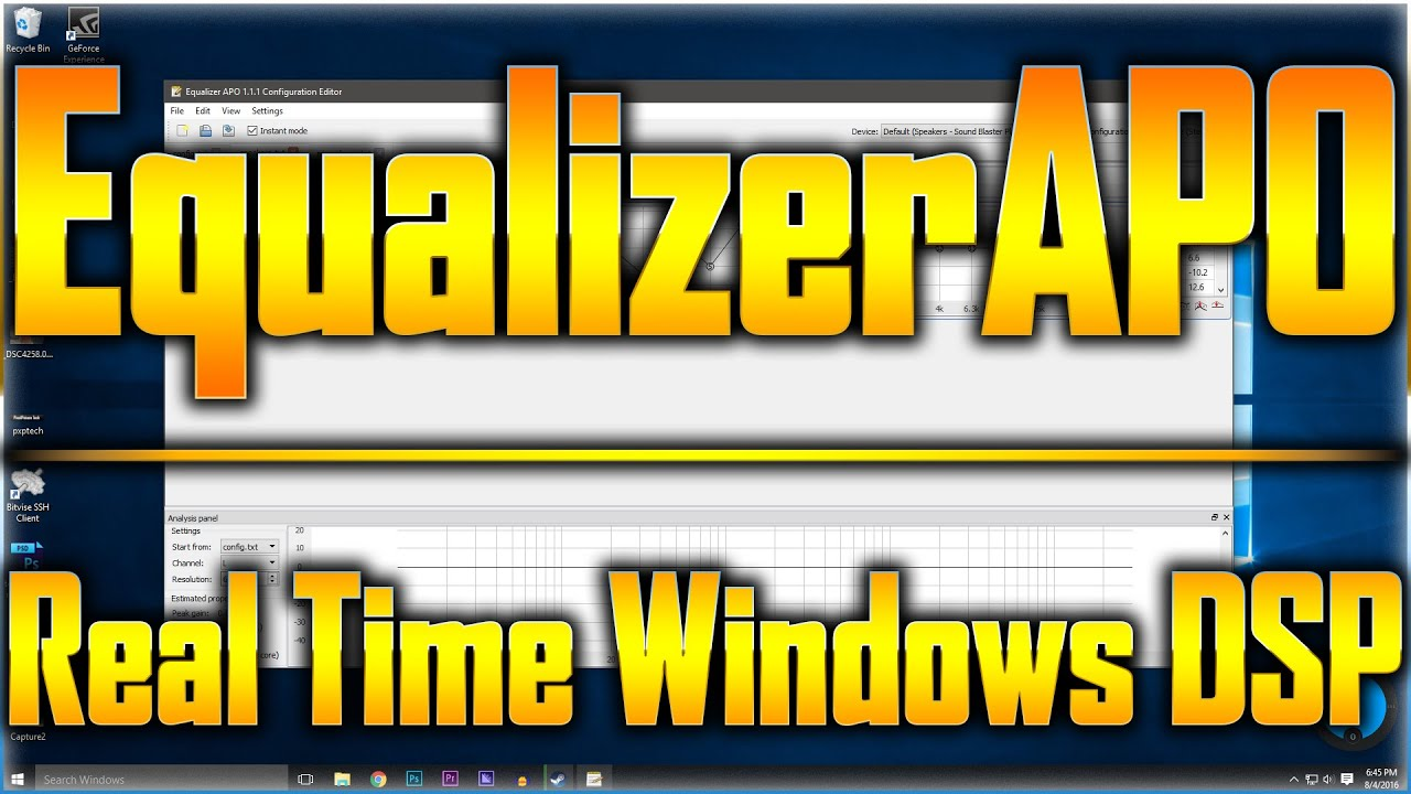 Equalizer APO Overview/Tutorial Feat  Boosting a USB
