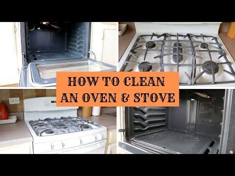 কিভাবে ওভেন এবং ষ্টোভ পরিষ্কার করবেন/How to clean an oven and stove top/Bengali vlog