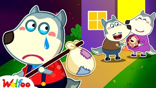 Come back home, Baby Wolfoo! Don't Feel Jealous! - Kids Stories About Wolfoo Family | Wolfoo Channel