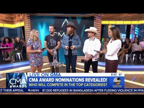2017 CMA Nominations - GMA