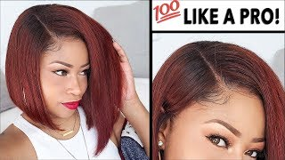 EASY HOW TO INSTALL LACE WIGS! ➟ (NO Glue, NO Sew, NO Band!!)