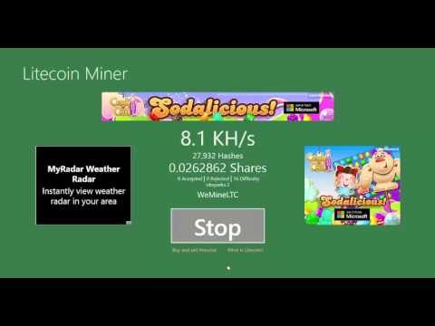 Bitcoin Mining On Windows 8, 10 Software/ Application