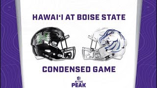 CONDENSED GAME: Hawai'i Rainbow Warriors at Boise State Broncos