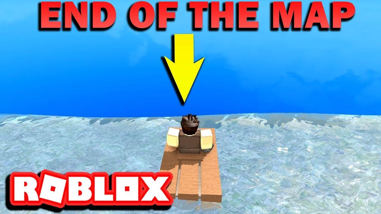 Roblox Booga Booga Mapa Getting To The Edge Of The Map Roblox Booga Booga 2 Youtube