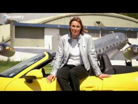Vicki Butler-Henderson and the Porsche Boxster S
