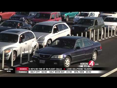 People That Create Confusion at the Bay Bridge Toll Plaze Behave Badly