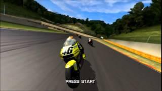 MotoGP Ultimate Racing Technology (Original Xbox) - Title Screen / Attract Mode