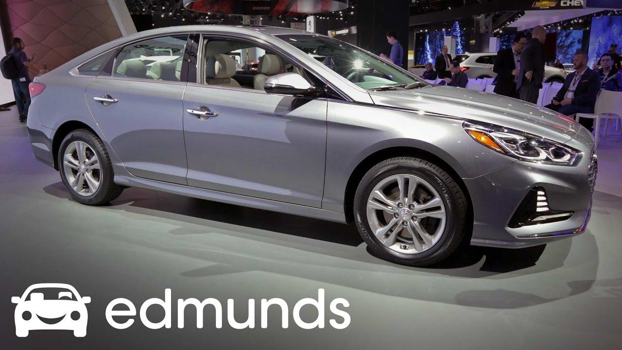 2018 Hyundai Sonata First Look Review Edmunds