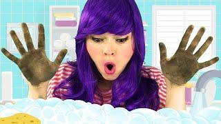 Lavarse las Manos - Buenos Hábitos | Canciones Infantiles Populares En Español con Lily Fresh