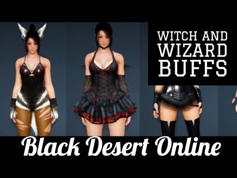 Black Desert Online [BDO] Witch and Wizard Buffs