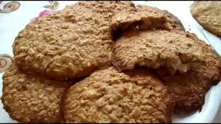Овсяное печенье с медом.  Просто вкусно!