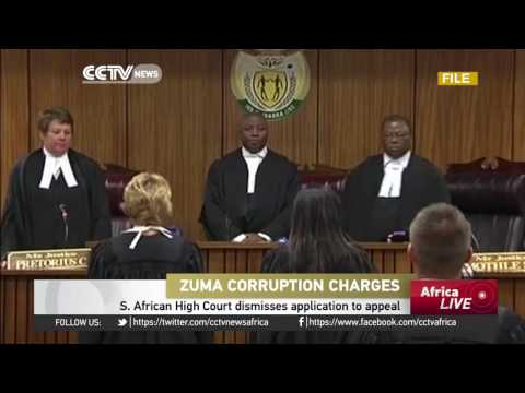 South African High Court dismisses President Zuma's applicat